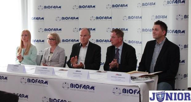 Spółka Biofarm została sponsorem głównym Basket Junior Poznań i Basketu Such Las