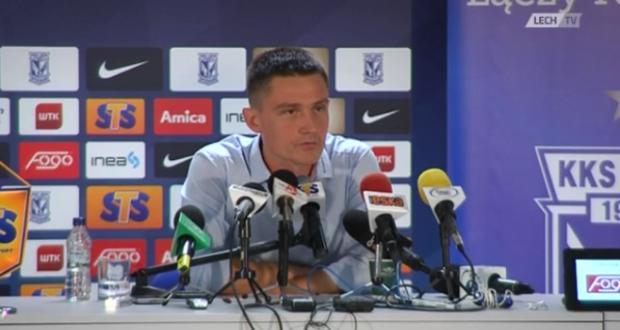 Mariusz Rumak - fot. screen z LechTV