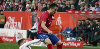 Polska - Serbia 1:0 na INEA Stadionie / fot. Patryk Pindral