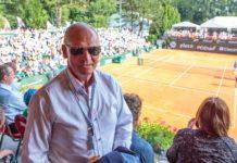 Prezes PZT Mirosław Skrzypczyński/foto Piotr Paweł Rychter Poznań Open 2017